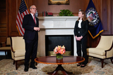 Photos From Amy Coney Barrett Capitol Hill Courtesy Call Kevin Cramer