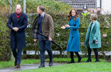 Photos From Kate and William Visit Holy Trinity Church of England First School in Berwick-Upon-Tweed