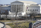 The Supremes Photo - A view of the Supreme Court in Washington Tuesday Jan 19 2021 ahead of the 59th Presidential Inauguration on Wednesday Credit Susan Walsh  Pool via CNPAdMedia