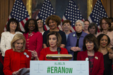 Photo - Speaker of the United States House of Representatives Nancy Pelosi (Democrat of California) on the Equal Rights Amendment