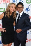 Adhir Kalyan Photo - 3 August 2011 - Beverly Hills California - Megyn Price and Adhir Kalyan CBS CW and Showtime Summer 2011 TCA Party held at The Pagoda Photo Credit Byron PurvisAdMedia