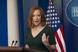 Photo - White House Press Secretary Jen Psaki holds a briefing at the White House