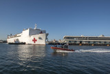Photos From USNS Mercy Arrives in Los Angeles