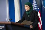 Photos From Sameera Fazili Delivers Press Briefing