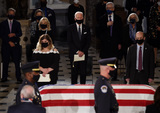 Photo - Justice Ruth Bader Ginsburg  Lies in State in the US Capitol
