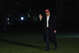 Photo - President Donald J Trump Returns to the White House