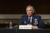 Photos From Senate Committee on Armed Services hearing  to examine United States Southern Command and United States Northern Command in review of the Defense Authorization Request for fiscal year 2022 and Future Years Defense program