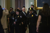 Photos From United States Vice President Mike Pence Arrives on Capitol Hill