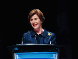 Photos From Laura Bush wishes Trumps