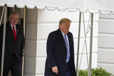 Photos From President Trump Departs White House For Norfolk
