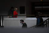 Photo - Speaker of the United States House of Representatives Nancy Pelosi (Democrat of California) arrives to offer remarks and field questions from reporters during her press conference at the US Capitol in Washington DC Friday January 15 2021 Credit Rod Lamkey  CNPAdMedia