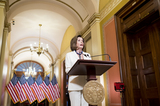 Photos From Speaker of the House Nancy Pelosi Calls for Impeachment