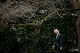 Photos From U.S. President Joe Biden walks on the South Lawn of the White House before boarding Marine One in Washington