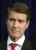 Photo - United States Senators Frist and Daschle speak on Risen scare on Capitol Hill