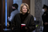 alaska Photo - Senator Lisa Murkowski a Republican from Alaska arrives to the US Capitol in Washington DC US on Saturday Feb 13 2021 The Senate approved 55-45 a request to consider calling witnesses in the second impeachment trial of Donald Trump a move that may extend the trial that was expected to end within hours Credit Stefani Reynolds - Pool via CNPAdMedia