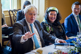 Photos From Bipartisan group of Senators meet with UK Prime Minister Boris Johnson at US Capitol
