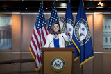 Photo - Speaker of the House Nancy Pelosi Holds a News Conference at the US Capitol