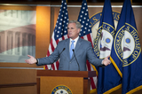 Photos From McCarthy Weekly Press Conference