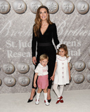 Photo - 07 December 2019 - Hollywood California - Ford Armand Douglas Hammer Elizabeth Chambers and Harper Grace Hammer Brooks Brothers Host Annual Holiday Celebration in West Hollywood to Benefit St Jude Photo Credit Billy BennightAdMedia