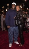 Alicia Harrison Photo -  Michael Clarke Duncan and Alicia Harrison at the premiere of Warner Brothers ROMEO MUST DIE in Westwood 03-20-00