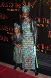 Akosua Busia Photo - Akosua Busia and daughter Hadar Busia at the Columbia TriStar premiere of Tears Of The Sun Mann Village Theatre Westwood CA 03-03-03