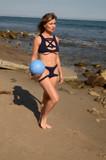 Photo - Showgirls Actress Rena Riffel Bare Swimwear Shoot