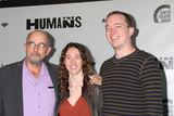 Photo - LOS ANGELES - JUN 20  Richard Schiff Ruby Schiff Gus Schiff at the Humans Play Opening Night at the Ahmanson Theatre on June 20 2018 in Los Angeles CA