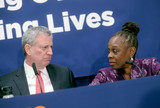 Photo - Photo by Dennis Van TinestarmaxinccomSTAR MAX2018ALL RIGHTS RESERVEDTelephoneFax (212) 995-119631918Mayor de Blasio and First Lady McCray will host a press conference to make an announcement about opioids in New York City