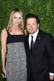 Photo - Photo by John NacionstarmaxinccomSTAR MAX2017ALL RIGHTS RESERVEDTelephoneFax (212) 995-1196111317Michael J Fox and Tracy Pollan at The 2017 Museum of Modern Art Film Benefit in New York City