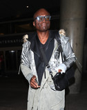 Photos From Seal is seen at LAX Airport