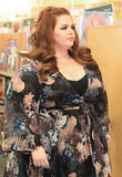 Photos From Tess Holliday promotes her book at Barnes and Nobles in Hollywood