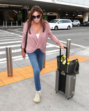 Photos From Caitlyn Jenner is seen at LAX Airport