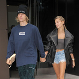 Photo - Photo by UMVstarmaxinccomSTAR MAXCopyright 2018ALL RIGHTS RESERVEDTelephoneFax (212) 995-119691418Justin Bieber and Hailey Baldwin are seen in New York City(NYC)