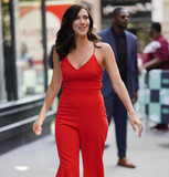 Photos From Becca Kufrin is seen in New York City