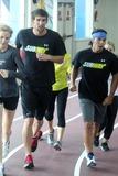 Photo - Apolo Anton Ohno and Michael Phelps Training For Upcoming Marathon-nyc
