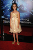 Ashlyn Sanchez Photo - Actress Ashlyn Sanchez attends The Happening premiere at the Ziegfeld Theater in New York City