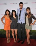 Aimee Teagarden Photo - Prom stars Yin Chang (left) Janelle Ortiz Nicholas Braun  Aimee Teagarden at the 8th Annual Teen Vogue Young Hollywood Party in partnership with Michael Kors at Paramount Studios HollywoodOctober 1 2010  Los Angeles CAPicture Paul Smith  Featureflash