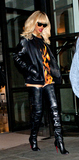 Photo - Rihanna leaves the Corinthia Hotel in London wearing Christian Louboutin thigh length leather boots London UK March 27 2012 London UKPicture Catchlight Media  Featureflash