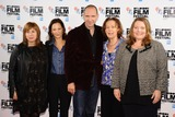 Abi Morgan Photo - screenwirter Abi Morgan producer Gabrielle Tana director Ralph Fiennes author Claire Tomalin and actress Joanna Scanlan at The Invisible Woman photocall as part of the bfi London Film Festival 2013 Mayfair Hotel London 17102013 Picture by Steve Vas  Featureflash