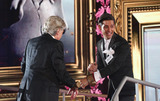 Lionel Blair Photo - Ollie Locke  Lionel Blair at Celebrity Big Brother 2014 - Contestants Enter The House Borehamwood 03012014 Picture by Henry Harris  Featureflash