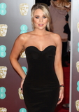 Photo - London UK Lydia Bright at EE British Academy Film Awards 2018 - Red Carpet Arrivals at the Royal Albert Hall London on Sunday February 18th 2018 Ref LMK73 -J1591-190218Keith MayhewLandmark Media WWWLMKMEDIACOM