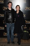 Alfie Oldman Photo - London UK Lesley Manville and son Alfie Oldman at the Once Press Night featuring Ronan Keating in the lead role of Guy at The Phoenix Theatre London England UK on Tuesday 25th November 2014Ref LMK370-50170-261114Justin NgLandmark MediaWWWLMKMEDIACOM