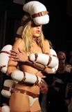 Alice Dellal Photo - London UK  Alice Dellal on the Catwalk at the London Fashion Show (LFW) SS 2019 Pam Hogg show at Freemasons Hall London on Friday 14th September 2018   RefLMK73-S1751-150918 Keith MayhewLandmark Media WWWLMKMEDIACOM