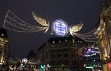 Photo - London UK Christmas Lights in  Regent  Street London  16 November 2018 RefLMK73-S1931-171118 Keith MayhewLandmark Media WWWLMKMEDIACOM