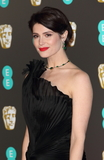 Photo - London UK Gemma Arterton at EE British Academy Film Awards 2018 - Red Carpet Arrivals at the Royal Albert Hall London on Sunday February 18th 2018 Ref LMK73 -J1591-190218Keith MayhewLandmark Media WWWLMKMEDIACOM