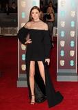 Photo - London UK Karen Gillan at EE British Academy Film Awards 2018 - Red Carpet Arrivals at the Royal Albert Hall London on Sunday February 18th 2018 Ref LMK73 -J1591-190218Keith MayhewLandmark Media WWWLMKMEDIACOM