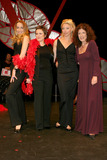 Anita Roddick Photo - London L-R Jerry Hall TV presenters Rhona Cameron and Tamara Beckwith and Anita Roddick - founder of the Body Shop brand -  taking part in the world wide hit Vagina Monologues Special production in celebration of International Womens Day Criteron TheatreLondon 8th March 2004 PICTURES BY GOFFREDO CROLLALANZALANDMARK MEDIA