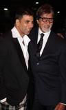 Akshay Kumar Photo - London UK Akshay Kumar and Amitabh Bachchan at the premiere of Chandni Chowk to China at the Empire Cinema Leicester Square12 January 2009Keith MayhewLandmark Media