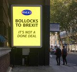 Photos From Bollocks To Brexit Sign