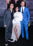 Alexander Ludwig Photo - HOLLYWOOD LOS ANGELES CALIFORNIA USA - JANUARY 14 Charles Melton Vanessa Hudgens and Alexander Ludwig arrive at the Los Angeles Premiere Of Columbia Pictures Bad Boys For Life held at the TCL Chinese Theatre IMAX on January 14 2020 in Hollywood Los Angeles California United States (Photo by Xavier CollinImage Press Agency)